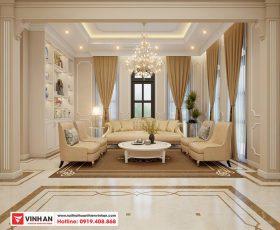 Thiết kế nội thất biệt thự song lập Smart Land phân khu Venice - Vinhomes Imperia Hải Phòng