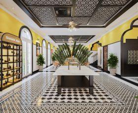 Thiết kế Resort phong cách Indochine - Khách sạn Alee - Hạ Long