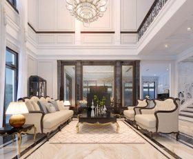 Thiết kế nội thất biệt thự đơn lập Paris - Vinhomes Imperia - Nhà chị V