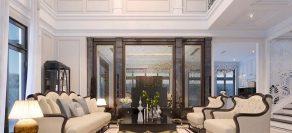 Thiết kế nội thất biệt thự đơn lập Paris – Vinhomes Imperia – Nhà chị V