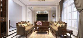 Thiết kế nội thất biệt thự song lập – Vinhomes Imperia – Nhà anh Điệp