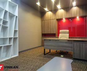 Thiết kế nội thất văn phòng hạng A tòa nhà SHP Plaza