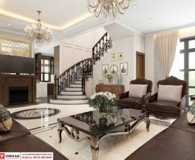 Thiết kế nội thất tân cổ điển -  Anh H - Vinhomes Imperia - Mahattan