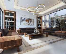 Thiết kế thi công nội thất nhà phố - Khách hàng Danh Huy