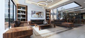 Thiết kế thi công nội thất nhà phố – Khách hàng Danh Huy