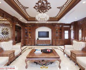 Thiết kế nội thất biệt thự Hoàng Huy Riverside - Anh Đông